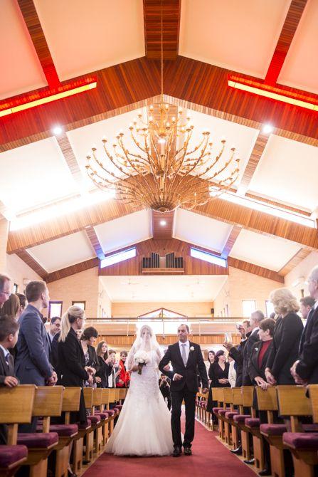 Here comes the bride! Location: St Nikola Tavelic Croatian Catholic Church, St Johns Park  #markjayphotography #sydneyweddingphotographer #weddingphotography