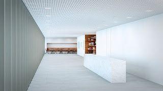 Vista da recepção | Centro Cultural do Instituto Ling - Isay Weinfeld | Porto Alegre