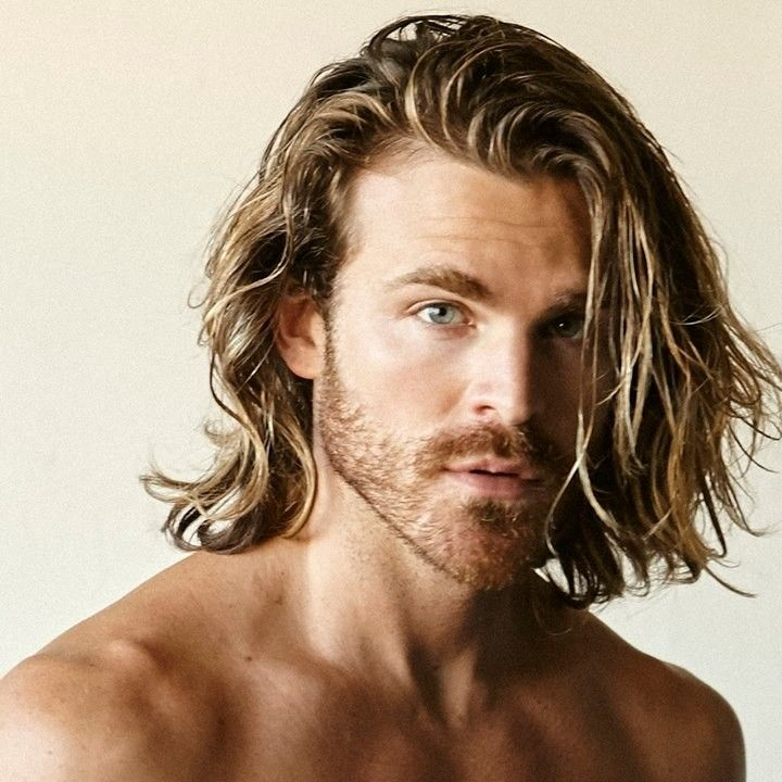 Long Blonde Hair Men 57