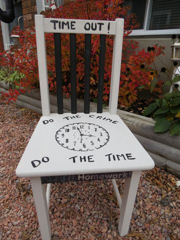TIME OUT CHAIR – Kimber Creations