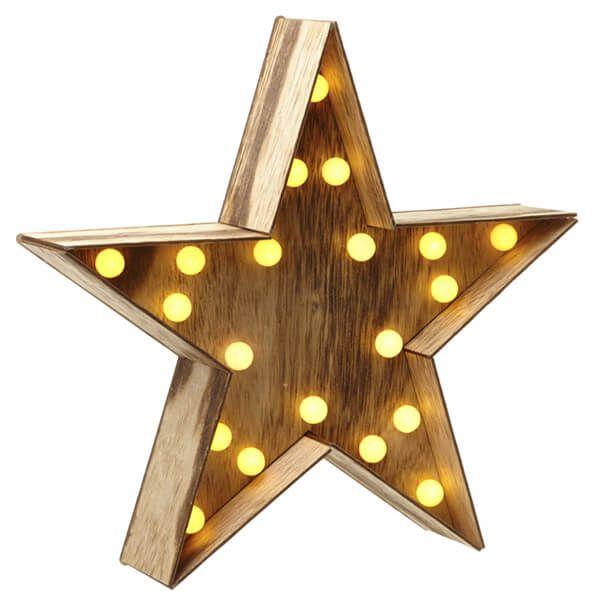 karácsonyi LED csillag...