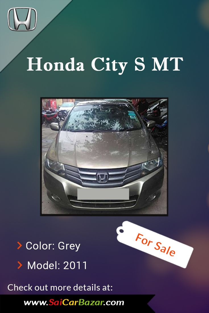 Find certified good condition honda city s mt car for sale grab the best