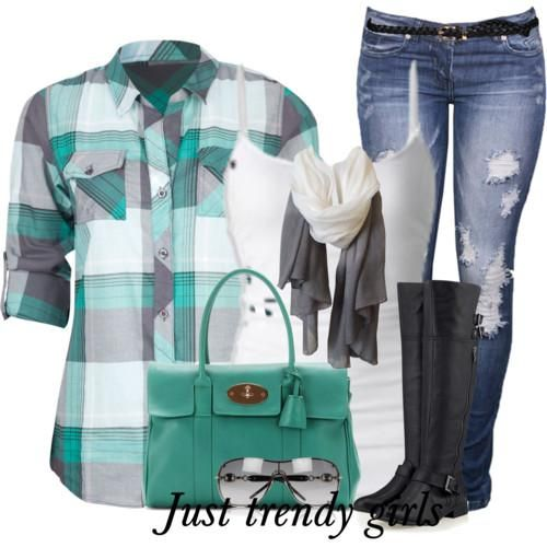 plaid shirt in green Fashion Plaid Shirts for woman http://www.justtrendygirls.com/fashion-plaid-shirts-for-woman/