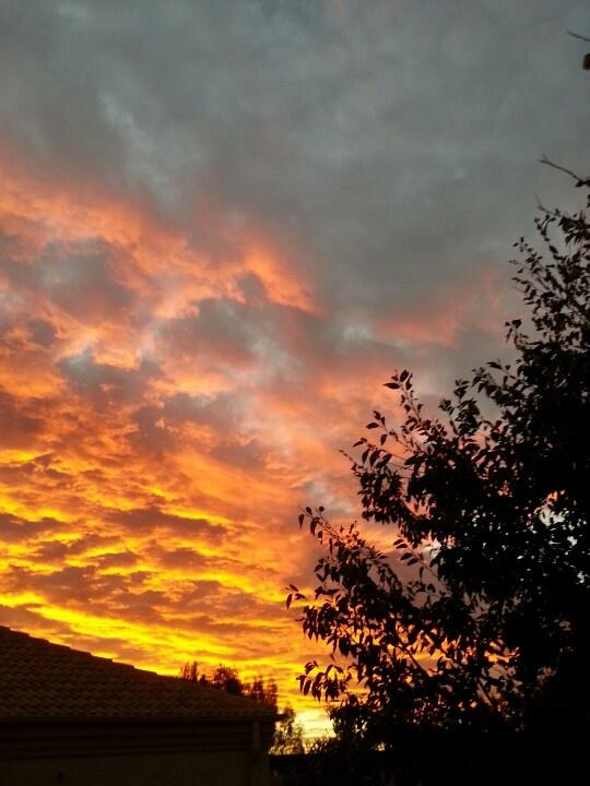 Sunset ,  Johannesburg, South Africa.