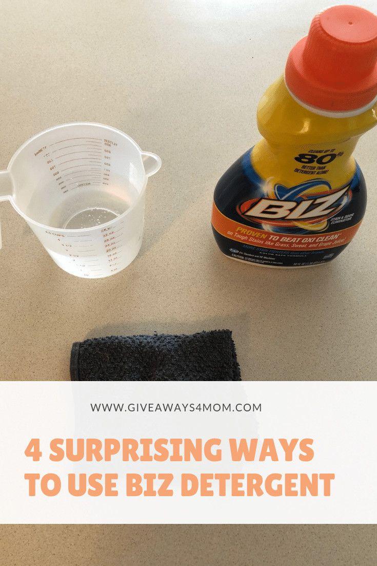 4 Surprising Ways To Use Biz Detergent Laundry Booster