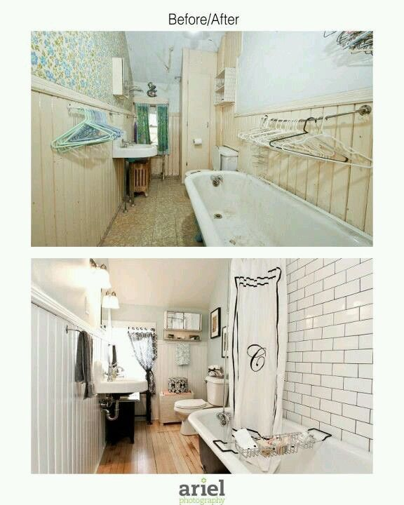 Rehab addict case ave bathroom before after by ariel for Bathroom rehab