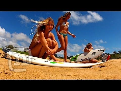 Watch all of the episodes of Alana: Surfer Girl     Kauai-native, pro surfer and model Alana Blanchard, along with her close friends, Leila Hurst and Camille Brady, take you on a journey. In this episode, Alana reflects on her experiences growing up in Kauai. The girls then pack in a full day of surfing, diving with the local b...