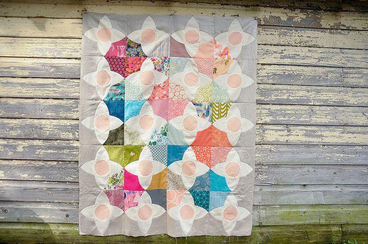 Karyn's Meadow Quilt Top