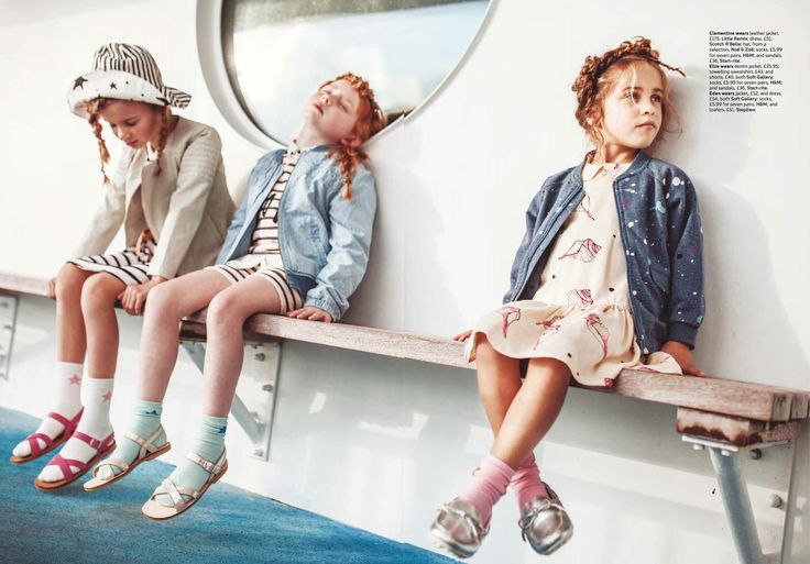 Soft Gallery and Little Remix for kids nautical fashion spring/summer 2015 in Family Traveller magazine