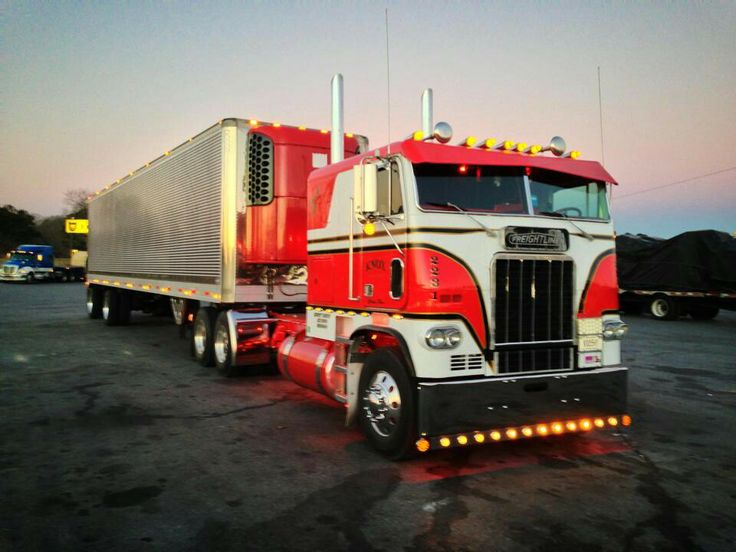 Pin by James Seidl on Freightliner cabover trucks ...