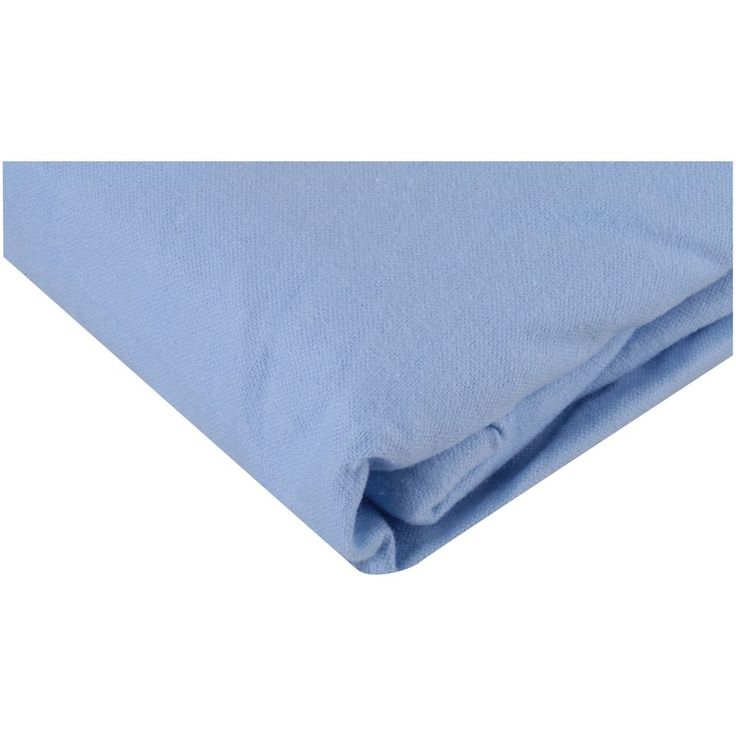 Flannel Crib Sheet Cotton Soft Warm Boy Infant Toddler Bed Mattress Cover Blue #FlannelCribSheets