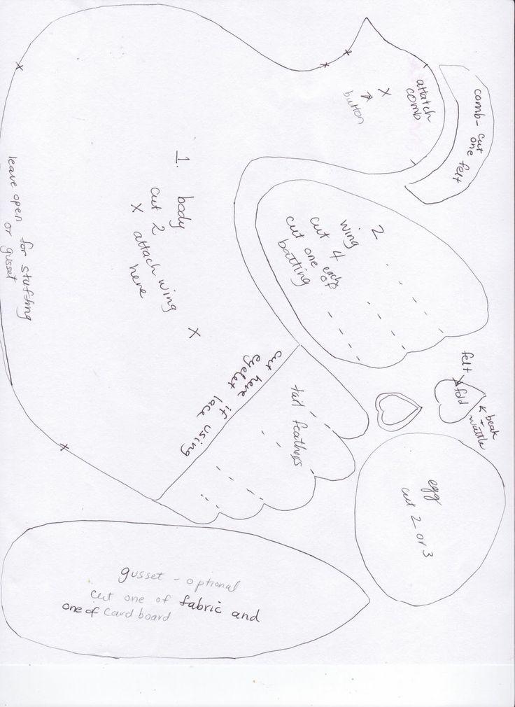 Chicken Sewing Pattern   ... /-tOz7KEXwlt4/TZzLySGJTrI/AAAAAAAAMUg/R4amojRTYKI/s1600/chicken.jpeg