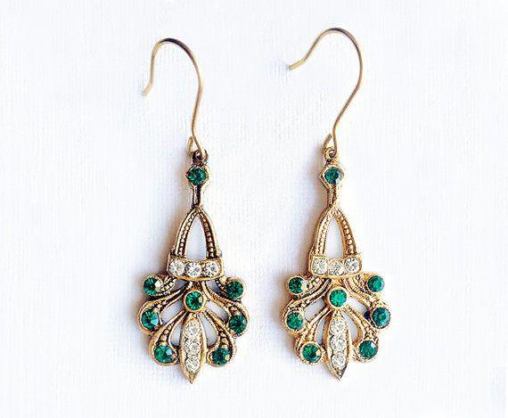 Fedora  Italian Vintage Jewelry Swarovski di SmeraldaVintage
