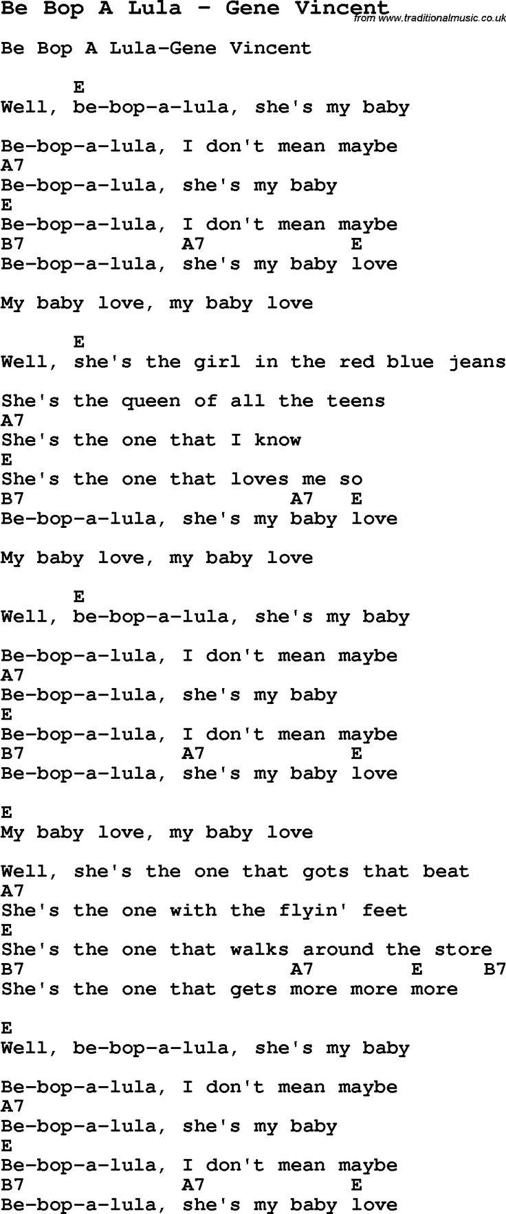 Lyrics to the song mr sandman