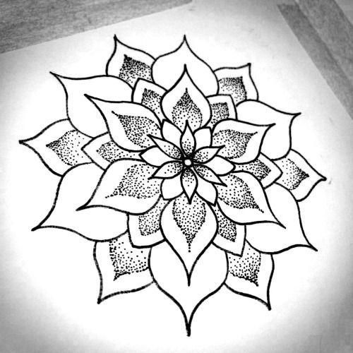 Tattoo Ideas Easy To Draw: Pin By Amy Buchanan On Mendala Moon Patterns