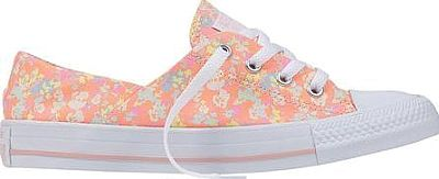 Converse Shoes - With the same low-cut canvas upper as its classic predecessor, the Converse Chuck Taylor All Star Coral Ox Floral Sneaker gets a flowery update with a bright and playful print. This comfortable, canvas shoe features an EVA insole for cushioning and helps to keep you going all day long. - #converseshoes #pinkshoes