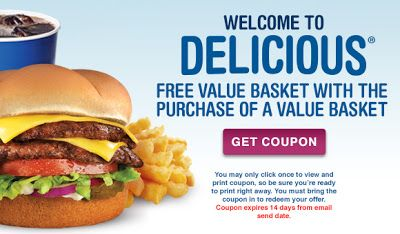 Coupon reduc value basket