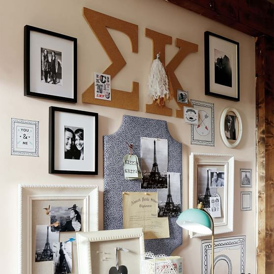 Sig kap wall decorations... Obviously need in ΦΜ