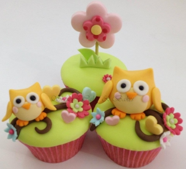 Baby Owl Cupcakes - Shereen's Cakes & Bakes