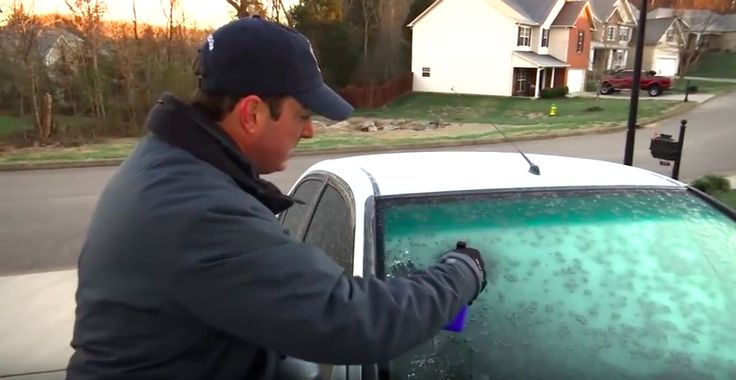 Ken Weathers, a newsman with local KATE ABC news in Knoxville Tennessee shares his secret solution for getting morning frost off your car in seconds without…