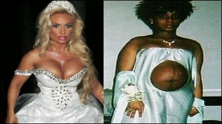 Best 25+ Ugly Wedding Dress Ideas On Pinterest