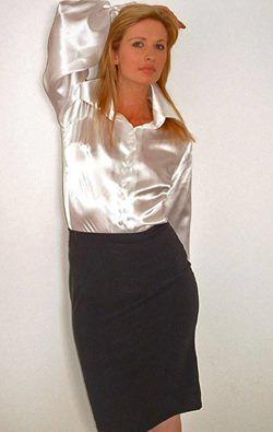 Secretary Getting Dressed For Work Beautiful Secretaries