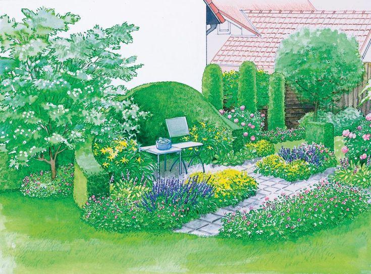 171 best Vorher-Nachher Inspirationen für den Garten images on - gemusegarten anlegen pflanzplan