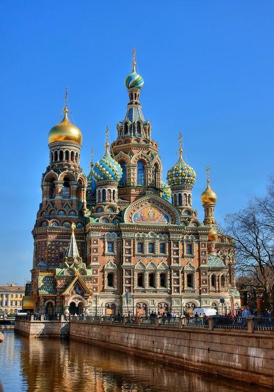 Ryssland turer. Kyrka Frälsaren på blod. Att resa till Ryssland. Sankt Petersburg semester.