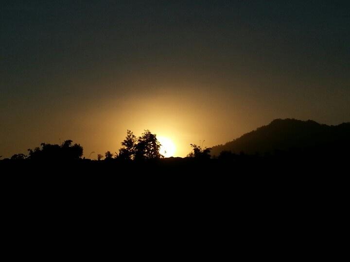 Sunset @Merapi