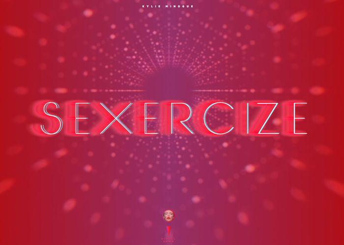 Sexercize By Kylie Minogue x Chandelier Creative #webdesign #inspiration #UI