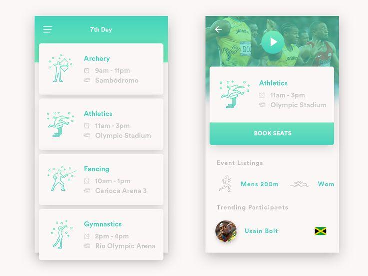 Olympics Schedule App