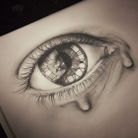 Another available to tattoo, message me on Facebook for enquires. facebook.com/callanleavesley #art #artist #artists #artistic #available #artofdrawing #art_collective #art_collective_ #artists_magazine #artists_community #artistsoninstagram #blackandgrey #clock #drawing #daily__art #drawingskills #drawingoftheday #eye #gothic #illustrator #illustration
