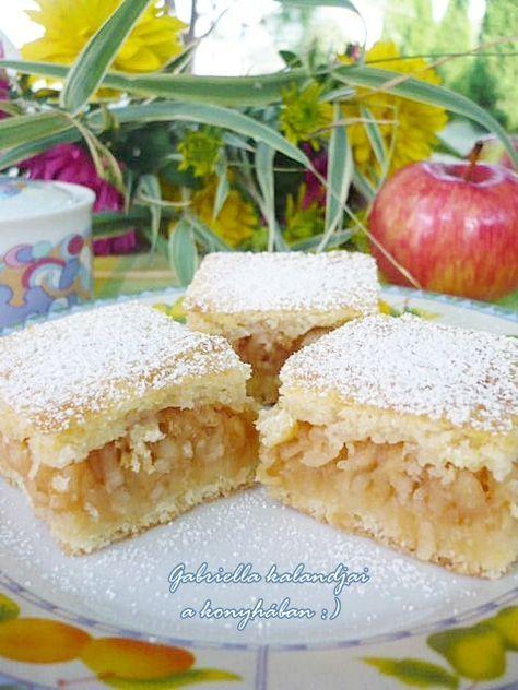 almás lepény - családom szerint a világ legfinomabb almása