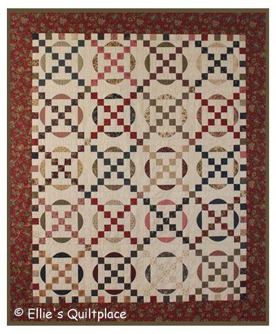 Ellie's Quiltplace - Patronen Grote Quilts
