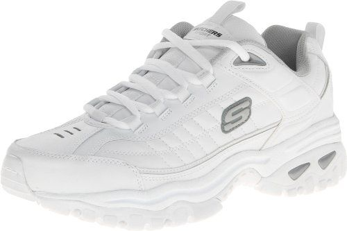 Skechers Sport Men's Energy Afterburn Lace Up,White,10 M US - Turn up the heat with Skechers Energy After Burn. This stylish jogger features a leather upper with webbed eyerow details, as well as a compression-molded EVA midsole for comfort and shock absorption. The lug rubber outsole adds superior traction. Choose Energy After Burn and leave the... - http://ehowsuperstore.com/bestbrandsales/shoes/skechers-sport-mens-energy-afterburn-lace-upwhite10-m-us