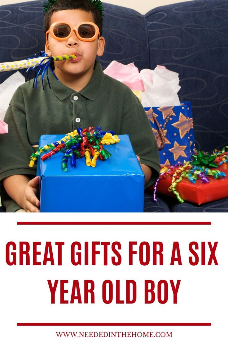Great Gifts For A Six Year Old Boy