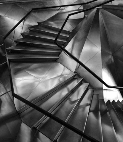 Danica O. Kus: Untitled 3 from the Series Stairs', 2012  #monochrome #photography