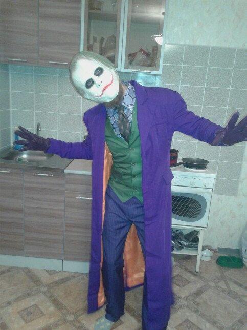 Batman The Dark Knight Joker Costume Cosplay by CosplayChief