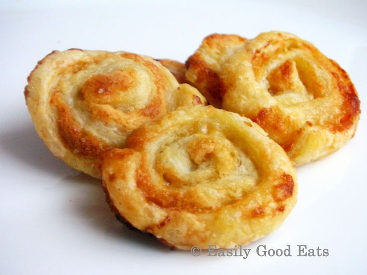 Puff Pastry White Chocolate Cookies - Just 2 Ingredients! White Chocolate and Puff Pastry - How easy is that!
