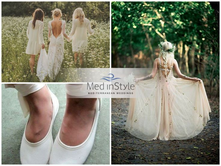 The green wedding stands for a responsible choice and a gesture of love as well, that brings together human beings, as they are embracing each other just like the day you will tie the knot!