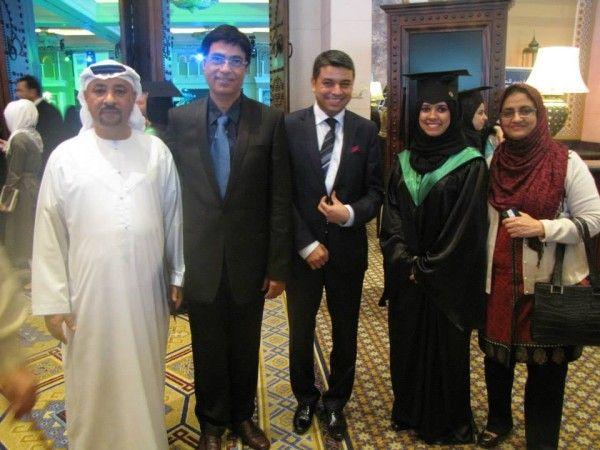 Dubai Medical College Graduation Ceremony