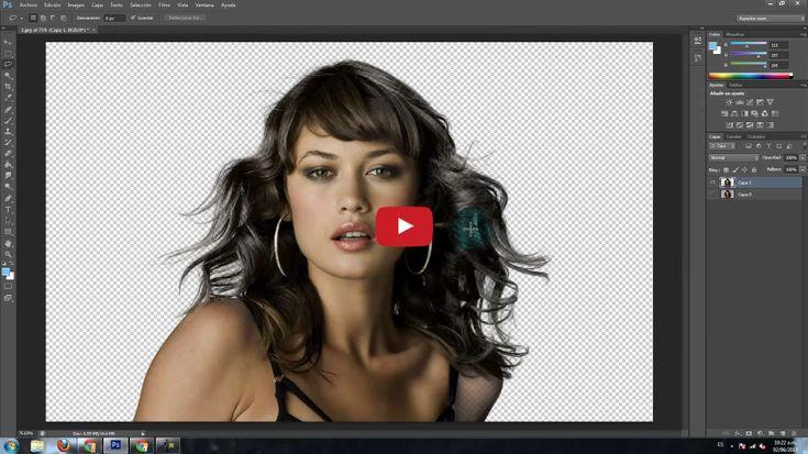 Cómo hacer un recorte perfecto en Photoshop                                                                                                                                                                                 Más