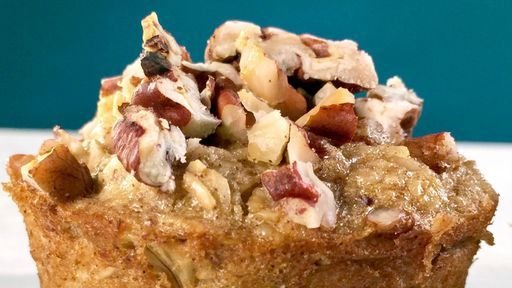 Baked Banana Oat Cups Recipe ~ The Chew (Making for Lillie :) from Ellie Krieger Guest on The Chew
