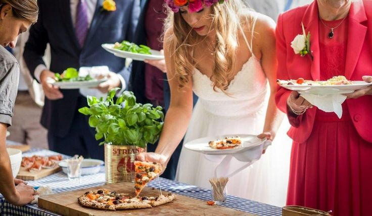 Our latest blog - 4 Ways To Have Pizza At Your Wedding. We cater for all kinds of weddings from festival weddings to sit down formal affairs. #festivalwedding #pizza #catering