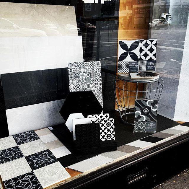 Happy Hump Day #blackandwhite #ontrend #interiordesign #lovetiles @southern_tile_moorabbin