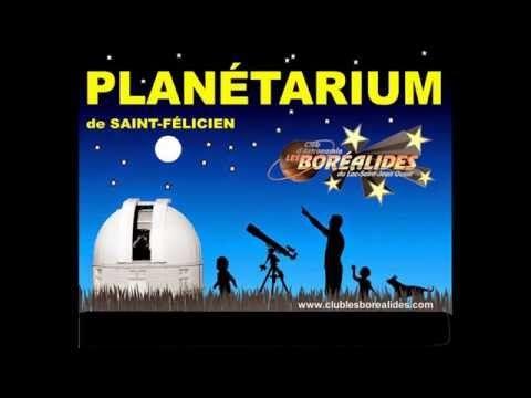 Astronomie au planetarium st-felicien, Astronomie, club d'astronomie, club d'astronomie amateurs, spectacles planétarium