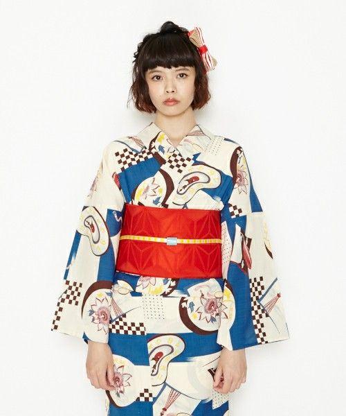 【ZOZOTOWN|送料無料】ふりふ(フリフ)の着物/浴衣「浴衣「トケイソウ」」(0651-394900)を購入できます。
