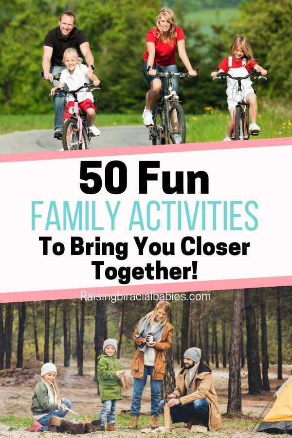 50 Indoor And Outdoor Family Activities Everyone Will Enjoy! – Kids and parenting