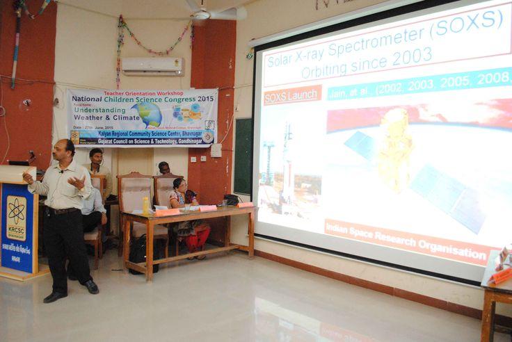 Dr. Rajmal Jain, Dean - Kadi Sarva Vidhyalaya, Gandhinagar @ Teachers Workshop on NCSC 2015 by KRCSC Bhavnagar