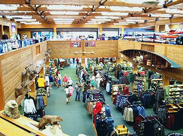 Shopping at the Amazing Kittery Trading Post, Kittery Maine